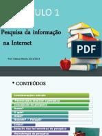 Pesquisa da informação da internet