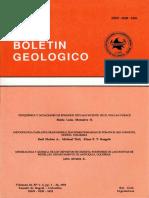 Boletin Geologico 33