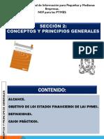 Seccion 2 Caracteristicas, Objetivos de Los Estados Financieros