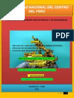 CHAMBERGO ORIHUELA KEVIN TRABAJO DE METALURGIA DE ORO CARBON ACTIVADO Y PROCESO ZADRA