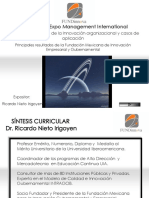 CONFERENCIA RICARDO NIETO Innovación Gubernamental.