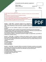 Exame Especial_Geometria Descritiva II_28_04_2019