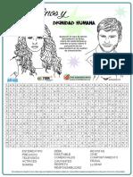 SOPA DE LETRAS - DIGNIDAD HUMANA.pdf