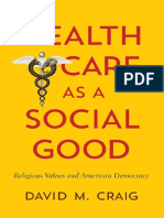 Health Care as a Social Good_ Religious Values and American Democracy