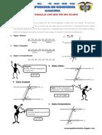 Problemas Propuestos de Rectas Paralelas Cortadas Por Una Secante RP3 Ccesa007