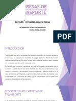 EMPRESAS DE TRANSPORTE.pptx