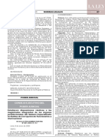 Resolución Administrativa N° 001-2020-CE-PJ