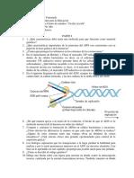 Cuestionario Cuestionario Acidos nucleicos