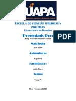 Tarea #4  - Español I
