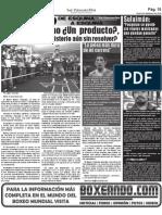 Manny Pacquiao, ¿Un producto?, ¿Un Astro?...ó ¿Un misterio sin resolver?.  La Cascarita 20-11-10