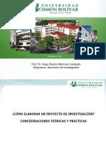 CÓMO ELABORAR UN PROYECTO DE INVESTIGACIÓN. CONSIDERACIONES TEÓRICAS Y PRACTICAS (HRMC-POSFRADOS)..pdf