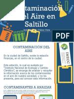 Contaminación del Aire en Saltillo