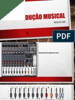 Mesa de som - funções