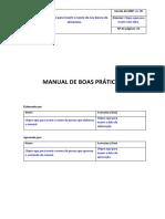 Modelo de Manual de Boas Práticas Para Bancos de Alimentos