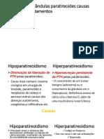 doenças das glândulas paratireoides