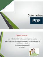 Coronavirus cosa dobbiamo sapere ?