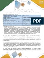 Syllabus del curso  Políticas Públicas y Desarrollo Humano