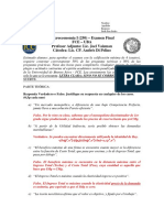 Microeconomía I (250) Final Diciembre 2015 Resuelto - San Isidro