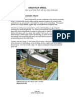 Pomegrante Center Greenroof Manual 2005