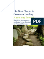 Deloitte on Consumer Lending