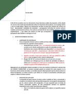 RESPUESTA Y ANLISIS DE INFORMACION RECIBIDA.