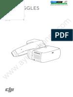 Manual usuario DJI Goggles V1.0 en Español