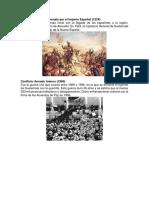 La conquista de Guatemala por el Imperio Español