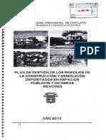 db2af3_I PLAN DE GESTION DE LOS RESIDUOS DE LA CONSTRUCCION Y DEMOLICI