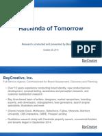 Hacienda - Brand Refresh Market Study
