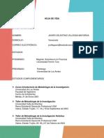 Javier Villegas - Hoja de vida - curriculum vitae