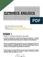 Aula 3 Eletrônica Analógica - Circuitos retificadores com diodo.ppt