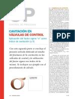 Cavitación en válvulas de control.pdf