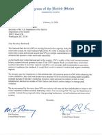 Zion National Park letter
