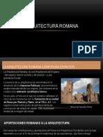 ARQUITECTURA ROMANA MARK