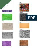 Tipos de Texturas