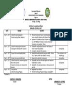 Brigada accomplishemnt form 2017
