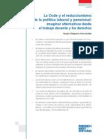 La Ocde y el reduccionismo de la política laboral y pensional