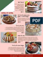 Torta de nozes pecã, figos e choco belga (4)