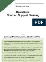 OCS Overview