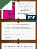 Expo El Cambio en La Organizacion
