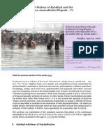 4. History of Ayodhya and the Ram Janmabhoomi Dispute