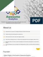 Awesome Analytics