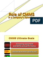 Role of Cmms - Client