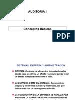 ADO249 - AUDITORIA I - Desarrollo Teorico Auditoria 1