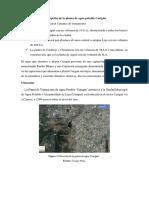 Descripción de la planta de agua potable Carigán