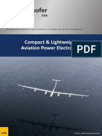 FraunhoferIISB_Brochure_Compact & Lightweight Aviation Power Electronics