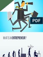 Presentation Entreprenuer