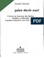 Tannen, Deborah (1991) Yo no quise decir eso(1).pdf