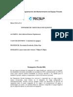 TRABAJO INFORME CRITICIDAD DE EQUIPOS TECSUP