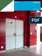 Catálogo - Soluções em Portas Corta-Fogo